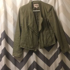 M Forever 21 Earth Green Jacket